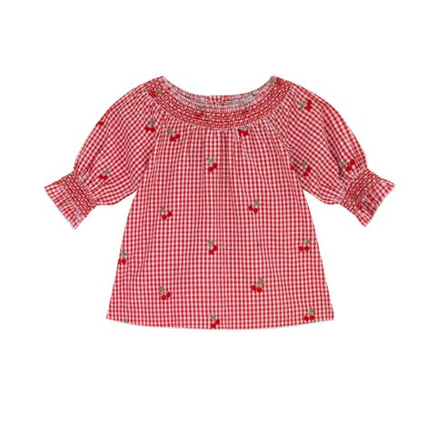 Small Gingham Blouse
