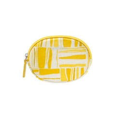 Painted Woodblack Oval Coin Purse