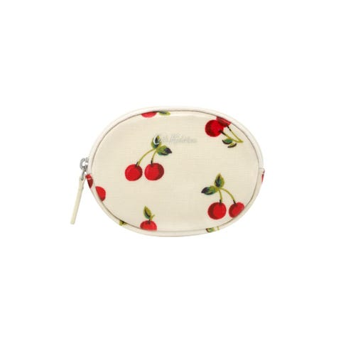 Cherries Oval Coin Purse