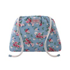 Summer Floral Drawstring Pouch
