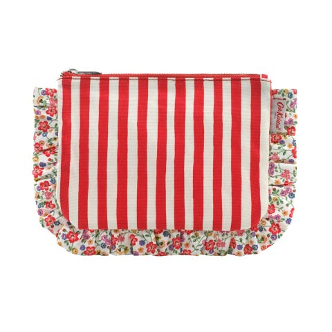 Candy Stripe The Frilly Pouch