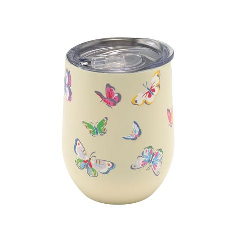 Butterflies Stainless Steel Travel Cup