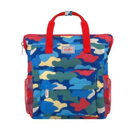 Camouflage Kids Large Tote Backpack