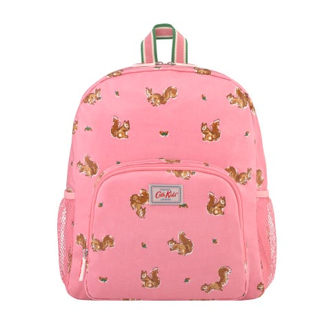 Garden Squirrels Kids Classic Large Backpack With Mesh Pocket