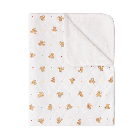 Cath Bear Quilted Blanket