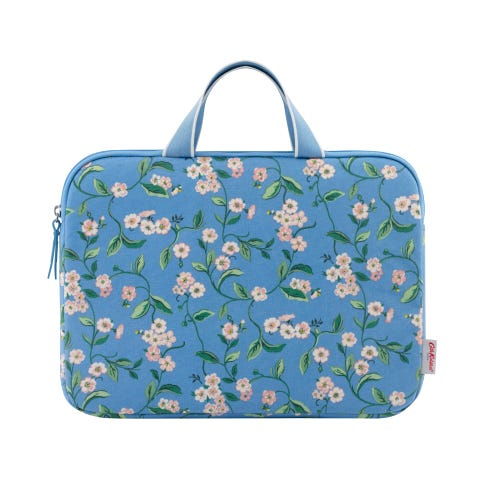 """Forget Me Not 13"""" Laptop Sleeve With Handle"""