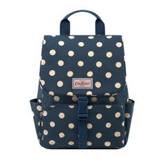Button Spot Buckle Backpack