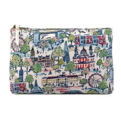 Mini London View Matt Zip Cosmetic Bag