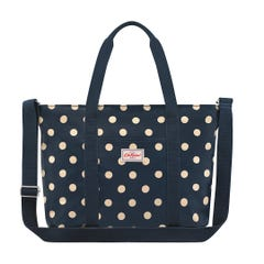 Button Spot Core Tote Nappy Bag
