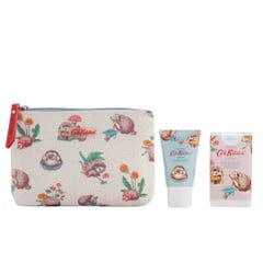 Gardener's Club Cosmetic Pouch With Hand Cream & Hand Sanitiser