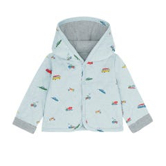 Spaced Garage Station Baby Quilted Jacket