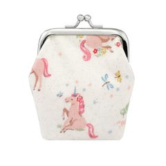 Unicorn Meadow Kids Mini Clasp Purse