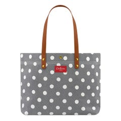 Button Spot Twill Brampton Large Tote