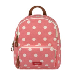 Button Spot Twill Brampton Small Pocket Backpack