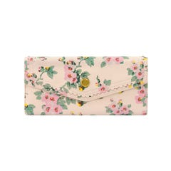 Mayfield Blossom Large Leather Envelope Wallet