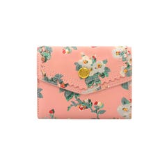 Mayfield Blossom Small Leather Envelope Wallet