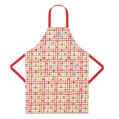 Strawberry Gingham Easy Adjust Apron