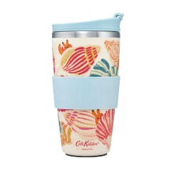 Seaside Shells Bamboo Travel Cup