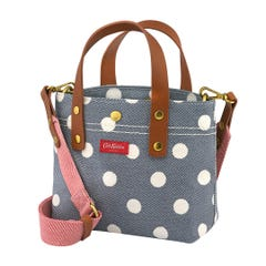 Button Spot Twill Brampton Mini Cross Body