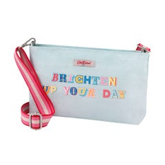 Brighten Up Your Day Small Zipped Crossbody