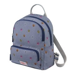 Mini Seaside Shells Twill Small Pocket Backpack