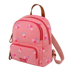 Pansy Twill Small Pocket Backpack Premium