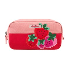 Sweet Strawberry Placement Box Cosmetic Bag