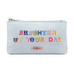 Brighten Up Your Day Placement Matt Zip Make Up Bag