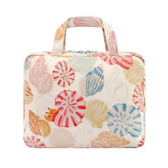 Seaside Shells Two Part Wash Bag