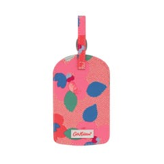 Large Pansy Twill Luggage Tag