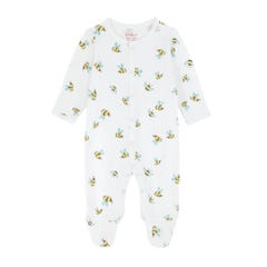 Buzzy Bee Footless Sleepsuit