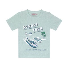 Speedy boats Kids Short Sleeve Tshirt