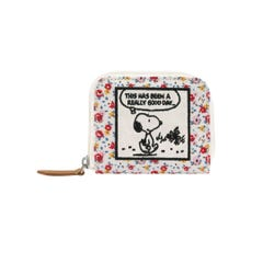Snoopy Tiny Rose Compact Continental Wallet