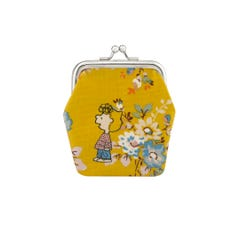 Snoopy Kingswood Rose Kids Mini Clasp Purse
