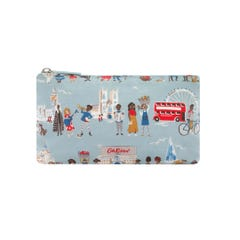 London People Matt Zip Makeup Bag