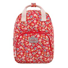 Mini Strawberries and Flowers Kids Medium Backpack with Chest Strap