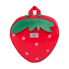 Solid Kids Medium Novelty Strawberry Backpack with Chest Strap