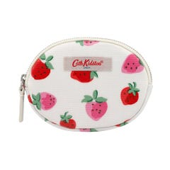 Sweet Strawberry Oval Coin Purse