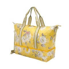 Scattered Wild Poppies Double Decker Travel Bag