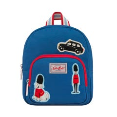 London Badges Kids Mini Rucksack With Badges And Chest Strap