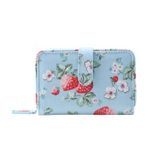 Mini Wild Strawberry 3-Part Wallet