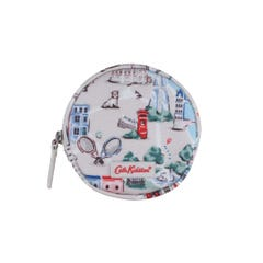 Small London Map Round Coin Purse
