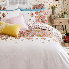 Painted Bloom Single Quilt Set