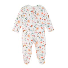 Weather Sleepsuit and Hat Set