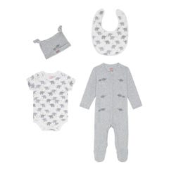 Small Elephants 4pack Baby Starter Set