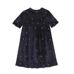 Shooting Stars Velvet Dress