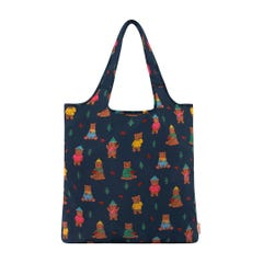 Woodland Bear Foldaway Shopper