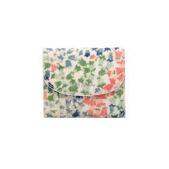 Tiny Painted Bluebell Small Foldover Wallet