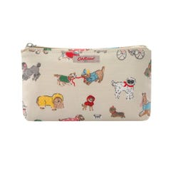 Small Park Dogs Zip Make Up Bag