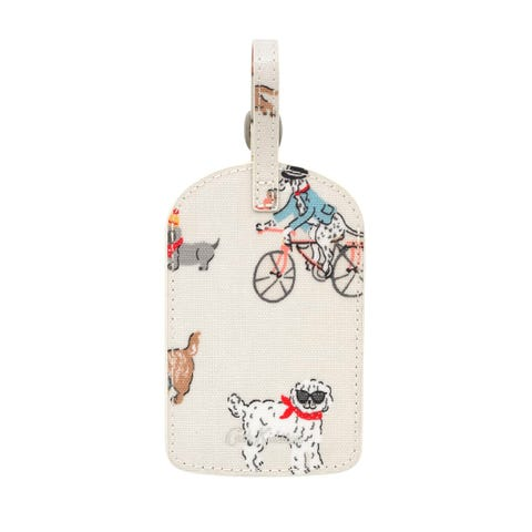 Small Park Dogs Luggage Tag